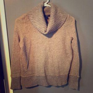 Apt 9 Sparkly Knit Turtleneck Sweater